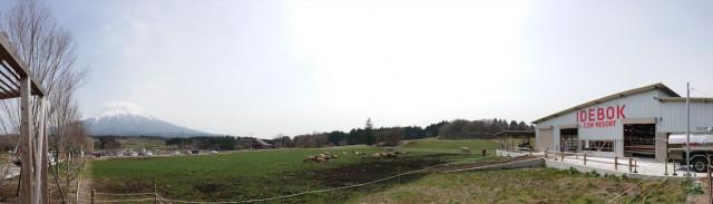 静岡県富士宮市の「IDEBOK COW RESORT」